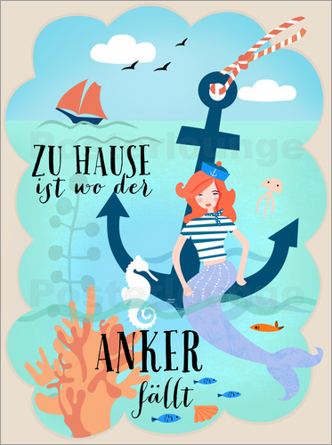 Poster home is where the anchor falls