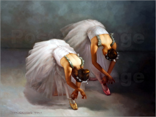 Yoo Choong Yeul - Two ballerina