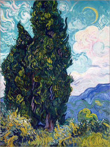 Poster Cypresses