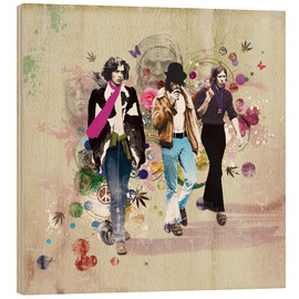 Wood print  hippie chic - Rob Hare