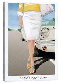 Canvas print  Retro summer - Sergio Laskin