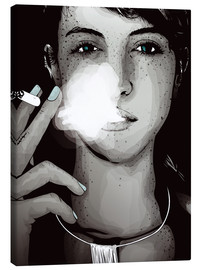 Canvas print  smoking #1 - studio43