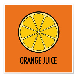 Poster  Orange Juice - JASMIN!