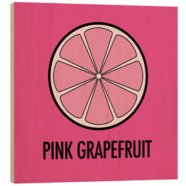 Wood  Pink Grapefruit Juice - JASMIN!