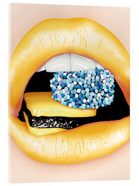 Acrylic glass  lips - studio43