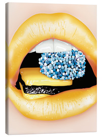 Canvas print  lips - studio43