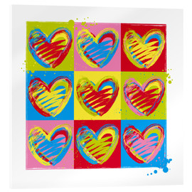 Acrylic print  heart number five - Thomas Marutschke