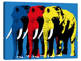 Canvas print  Elephant Walk - JASMIN!