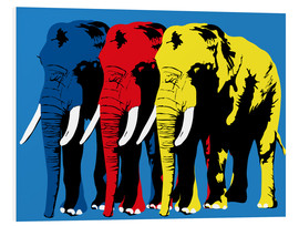 Foam board print  Elephant Walk - JASMIN!