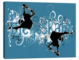 Canvas print  skate - Javier Velasco