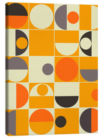 Canvas print  Panton orange - MiaMia