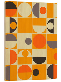 Wood  Panton orange - Mandy Reinmuth