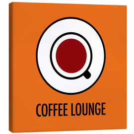 Canvas  Coffee Lounge, orange - JASMIN!