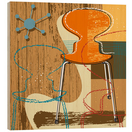 Wood print  ant chair - Thomas Marutschke