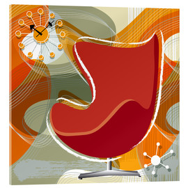 Acrylic print  Lounge Chair III - Thomas Marutschke