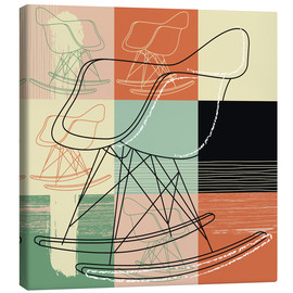 Canvas print  rocking chair - Thomas Marutschke