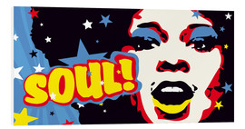 Foam board print  Soul! for the funky world - JASMIN!