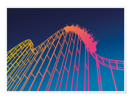 Premium poster  rollercoaster - David Fairfield