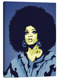 Canvas print  Soul Mama Nightfall Blue - JASMIN!