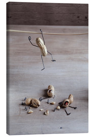 Canvas  Simple Things - Balancing - Nailia Schwarz
