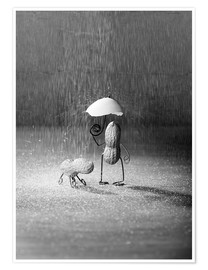Premium poster  Simple Things - Bad Weather - Nailia Schwarz