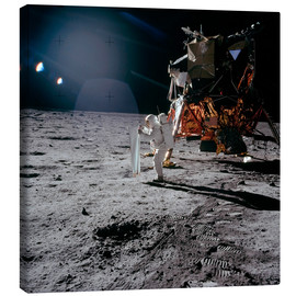 Canvas print  Apollo 11 Moon Walk - Stocktrek Images