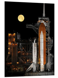 Foam board print  Space shuttle Discovery - Stocktrek Images