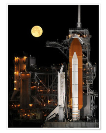 Premium poster Space shuttle Discovery