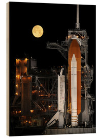 Wood print  Space shuttle Discovery - Stocktrek Images