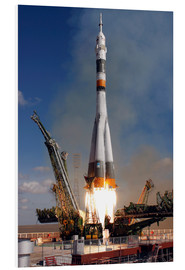 Foam board print  Soyuz TMA-13 - Stocktrek Images