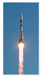 Premium poster The Soyuz TMA-18 rocket