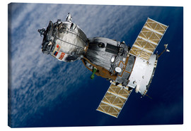 Canvas print  The Soyuz TMA-7 spacecraft - Stocktrek Images