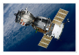 Premium poster The Soyuz TMA-7 spacecraft