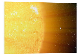 Forex  The relative sizes of the Sun and the Earth - Stocktrek Images