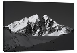 Canvas print  Alpine Summit - Walter Quirtmair