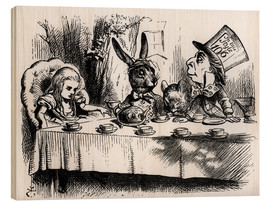 Wood  The Mad Hatter's Tea Party - John Tenniel