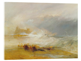 Acrylic print  Wreckers - Coast of Northumberland - Joseph Mallord William Turner