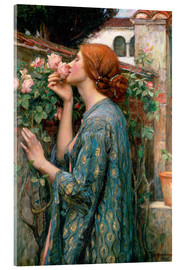 Acrylic glass  The Soul of the Rose - John William Waterhouse