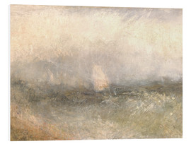 Foam board print  Off the Nore: Wind and Water - Joseph Mallord William Turner