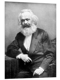 English Photographer - Portrait of Karl Marx