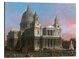 Aluminium print  St. Paul's Cathedral - Antonio Canaletto