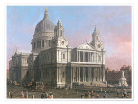 Premium poster St. Paul's Cathedral