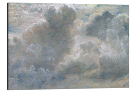 Alu-Dibond  Study of Cumulus Clouds - John Constable