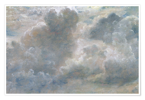 Premium poster Study of cumulus clouds