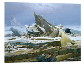 Acrylic glass  The Polar Sea - Caspar David Friedrich