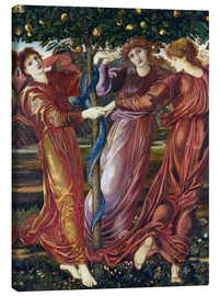 Canvas print  Garden of the Hesperides - Edward Burne-Jones