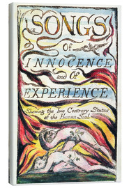Canvas print  Songs of Innocence and of Experience - William Blake