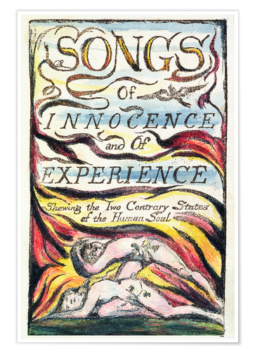 Premium poster Songs of Innocence and of Experience
