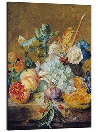 Alu-Dibond  Flowers and fruits - Jan van Huysum
