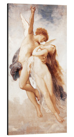Aluminium print  Cupid and Psyche - William Adolphe Bouguereau